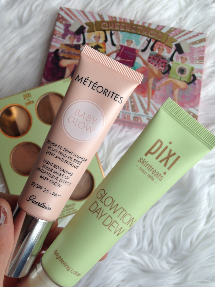 Guerlain Baby Glow Pixi By Petra Glowtion Day Dew Review and Swatches