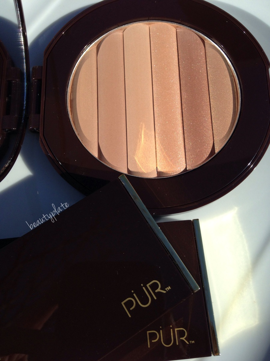 PÜR COSMETICS GLOW TOGETHER BRONZER SWATCHES AND REVIEW