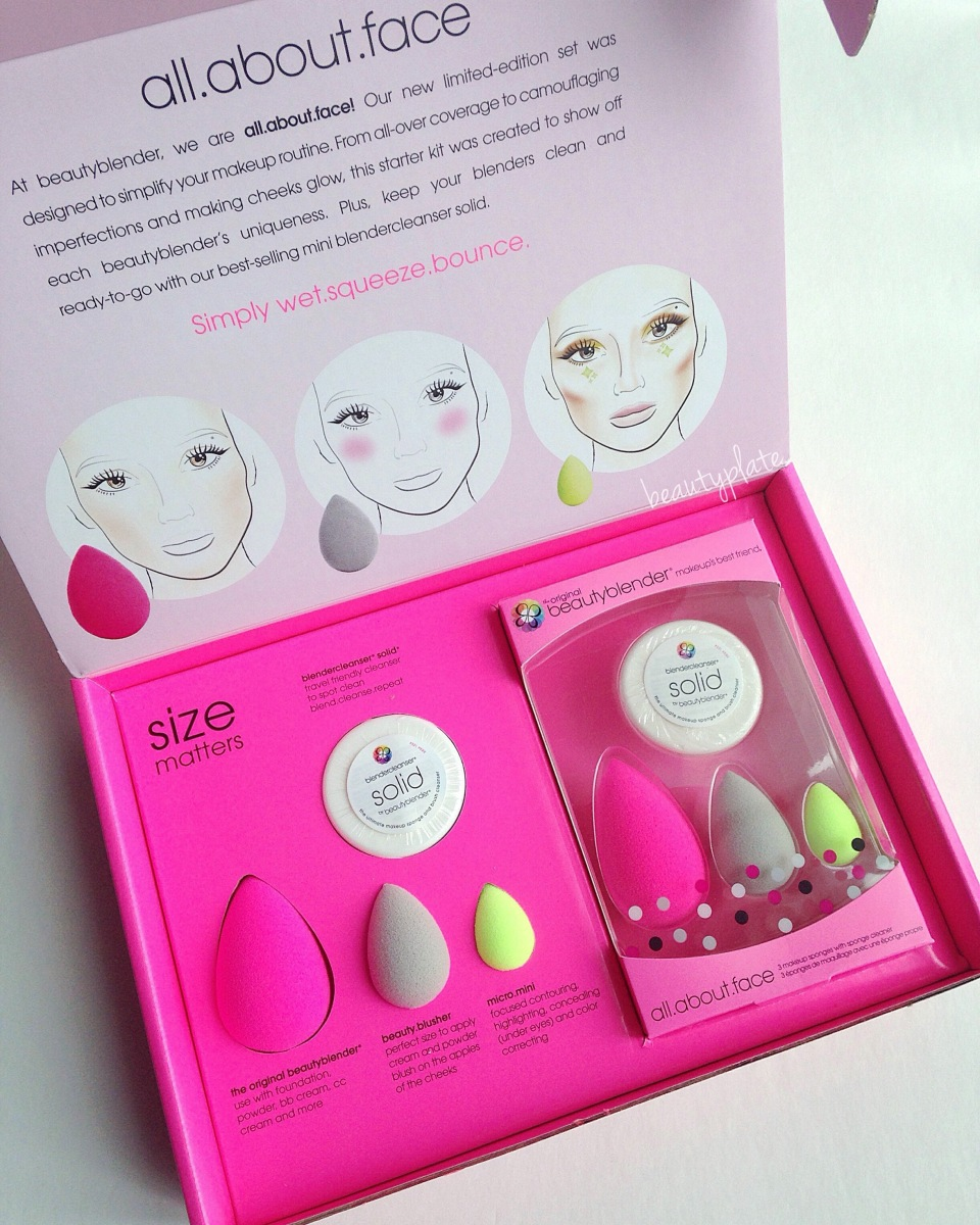 beautyblender all.about.face limited edition starter kit